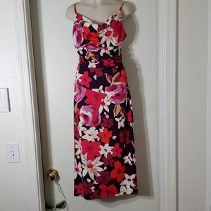 RUBY dress with beautiful floral pattern